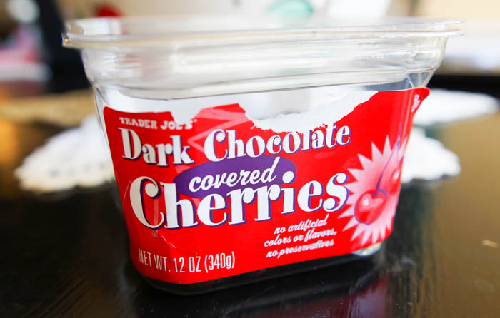 Trader Joe's Dark Chocolate Covered Cherries review