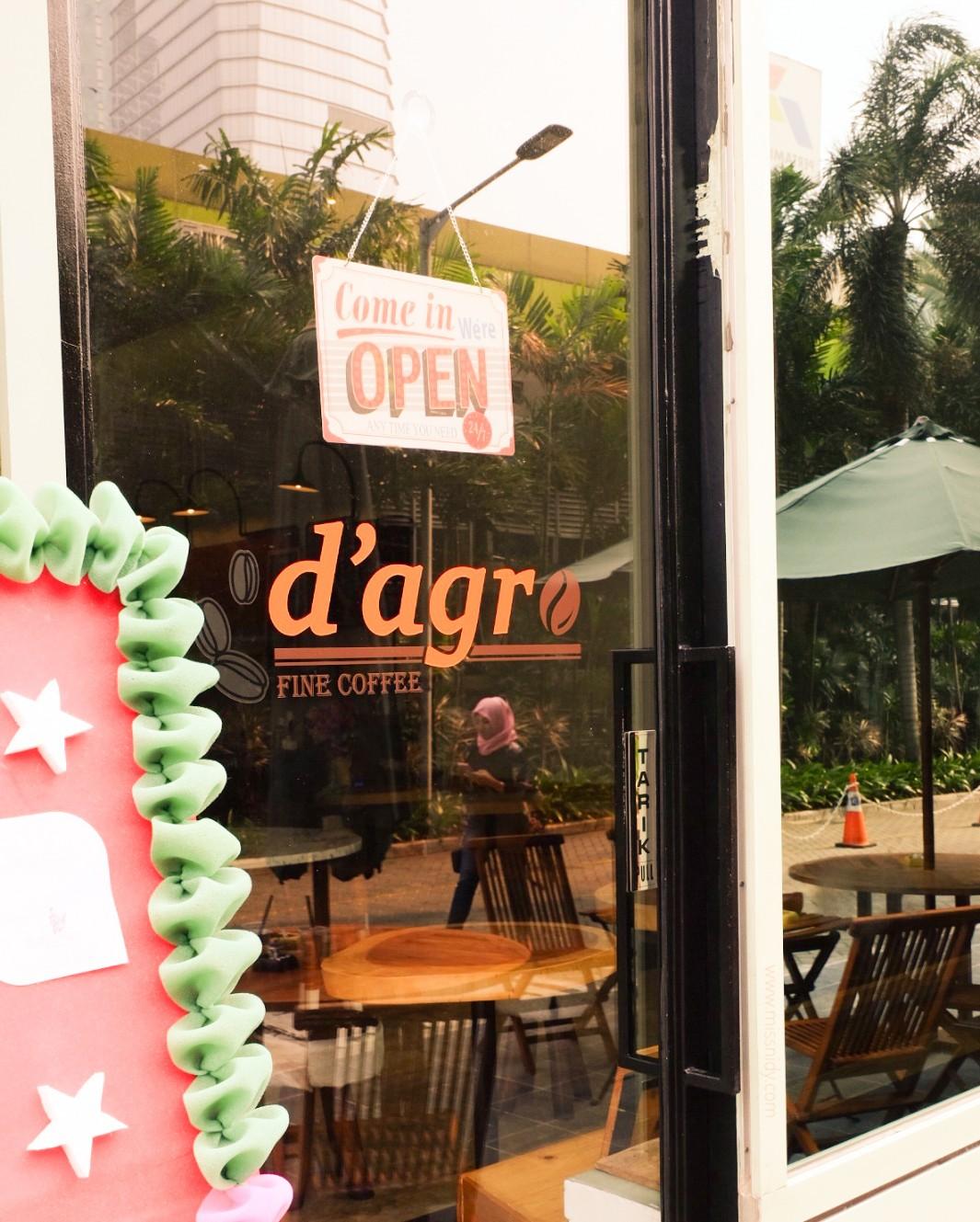 d'agro fine coffee kuningan jakarta selatan