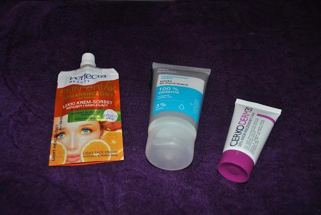 tolpa pianka do mycia twarzy krem z mocznikiem  30% silne działanie cerkoderm30