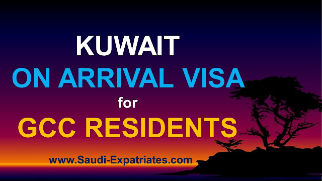 Kuwait On Arrival Visa For GCC Residents