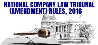 National-Company-Law-Tribunal-Amendment-Rules-2016