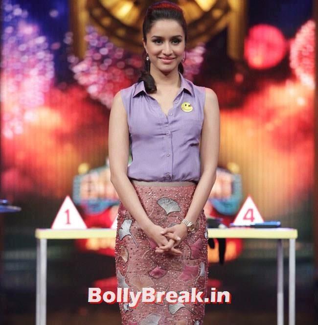 Shraddha Kapoor, Shraddha, Sidharth promote Ek Villain on Entertainment Ke Liye Kuch Bhi Karega