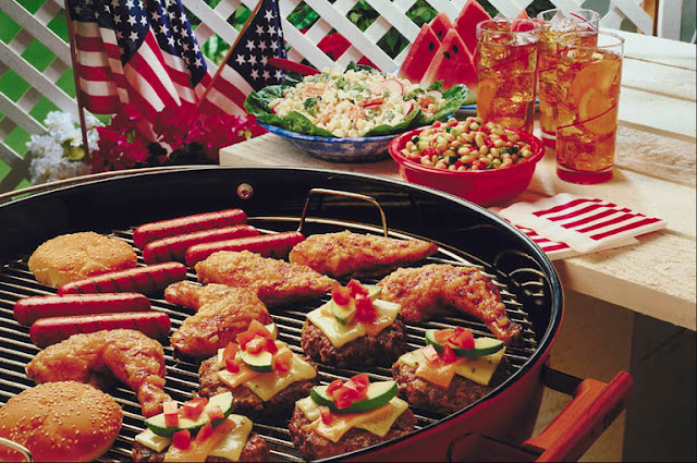 Independence day USA Food