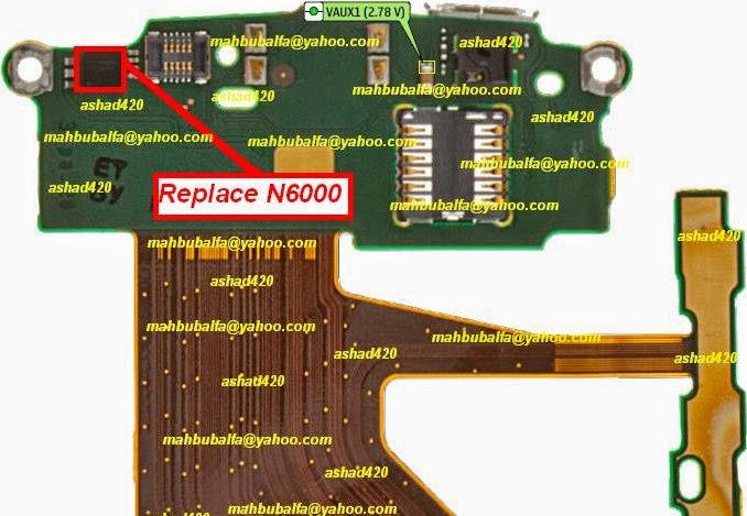 Nokia C3-01 Touch Keypad Ic