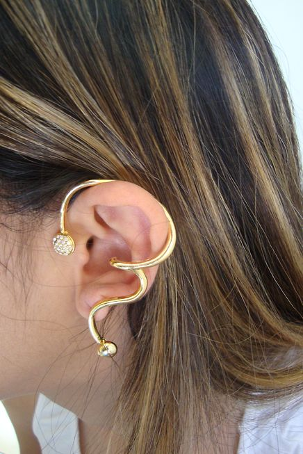 Tutorial  brincos Ear Cuff - Vídeo, dicas de como usar, fotos e modelos