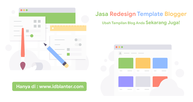 Jasa ReDesign Template Blogger