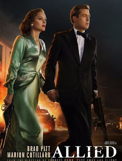 Review of ALLIED With Brad Pitt, Marion Cotillard