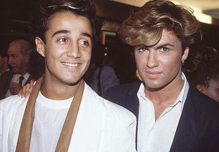 Wham! was a British musical duo formed by George Michael and Andrew Ridgeley in the early 1980s. http://www.jinglejanglejungle.net/2015/01/wham.html