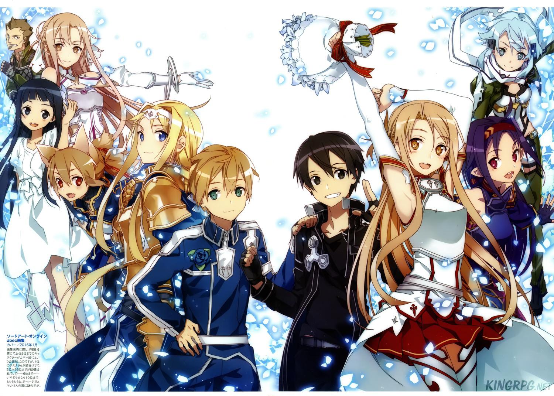 Ya Siapa Yang Tidak Kenal Dengan Anime Sword Art Online Ini Akan Mendapatkan Season Baru Berjudul Arc Alicization
