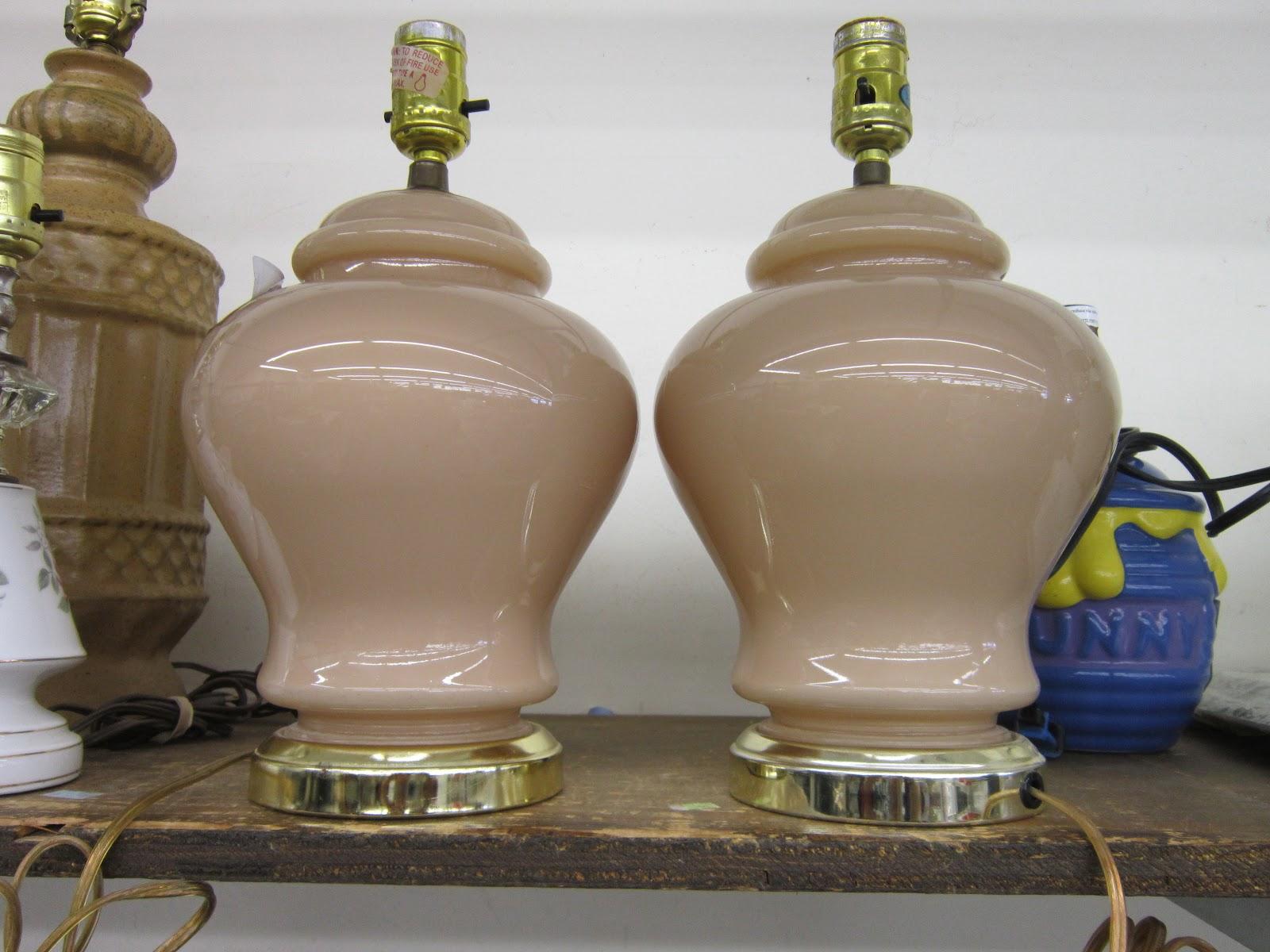 Design Megillah Thrift Shop Lamps