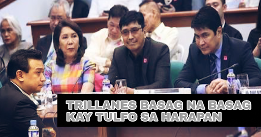 WATCH| Trillanes Hindi makaporma kay Tulfo sa isinagawang hearing - GET IN
