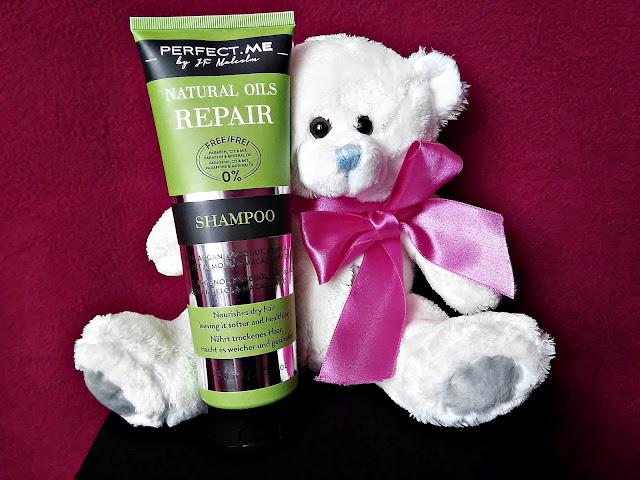 PERFECT.ME, Natural Oils Repair - Szampon odbudowujący do włosów suchych, szorstkich i zniszczonych