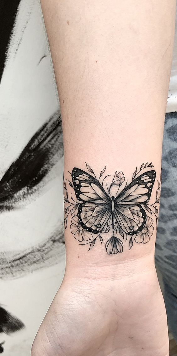 22 cute butterfly tattoo ideas for girls