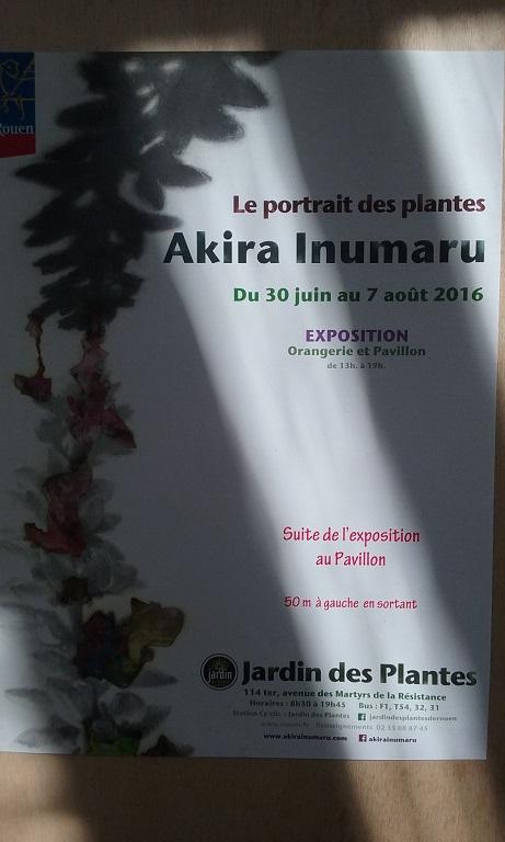 Les grigris de sophie akira inumaru au jardin des plantes for Jardin des plantes rouen 2016