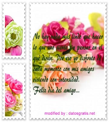 bonitas frases para enamorar, día de la amistad, lindos mensajes