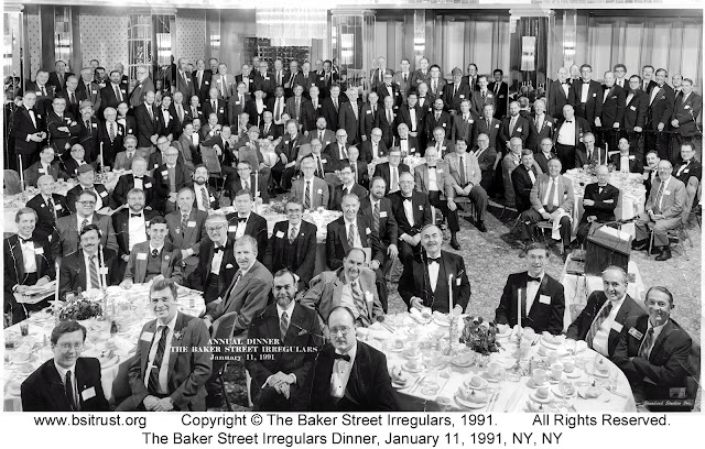 The 1991 BSI Dinner group photo
