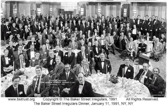 The 1991 BSI Dinner group photo