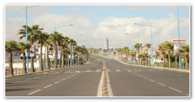 الدار البيضاء والمحمدية بدون سيارات في هذا التاريخ
