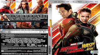 CARATULA Ant-Man and the Wasp -ANT-MAN Y LA AVISPA 2018 [COVER 4K - UHD ]