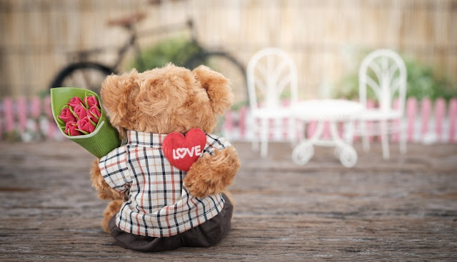 Image: Teddy Bear Love, by Acharaporn Kamornboonyarush on Pexels