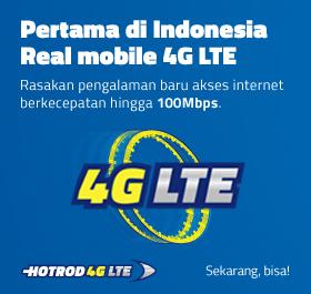 HotRod 4G LTE, Kartu XL 4G LTE, Paket XL 4G LTE, XL 4G LTE,