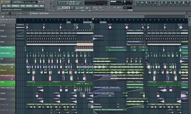 Fl studio 11 русская версия