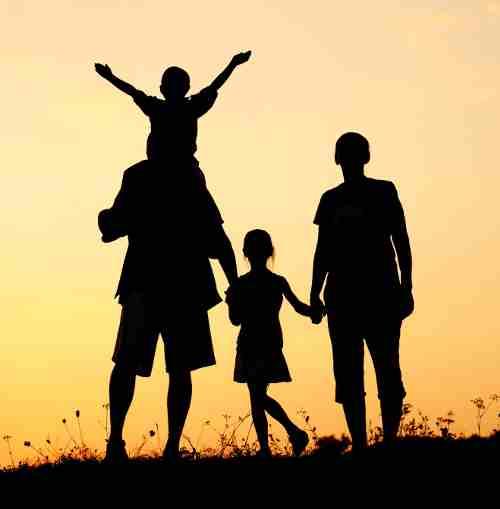 Tenere Unita La Famiglia Uomini Beta