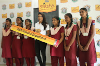 Actress Priya Anand in T Shirt with Students of Shiksha Movement Events 60.jpg