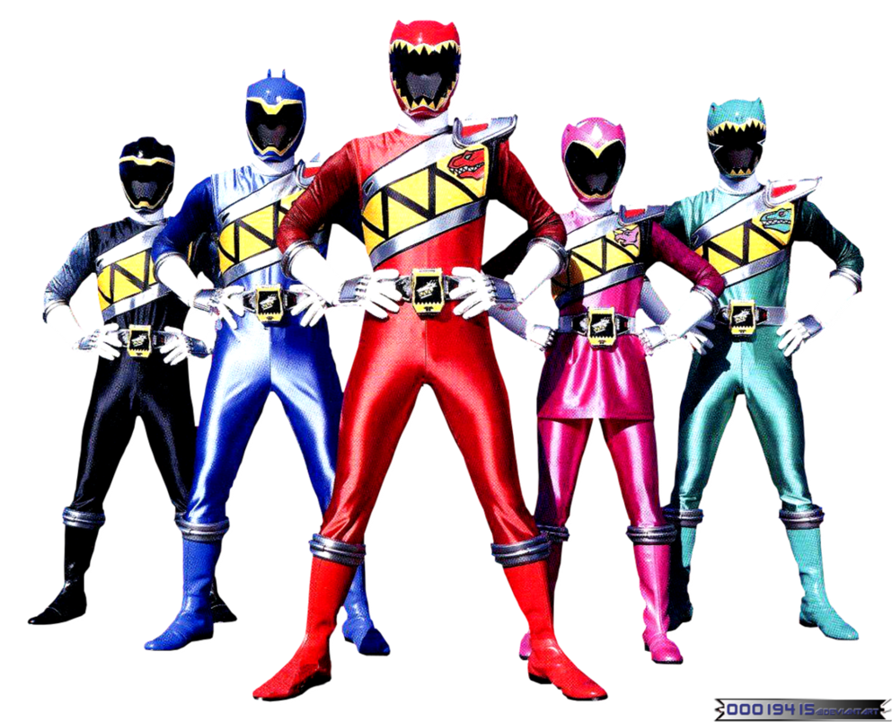 Render Power Rangers