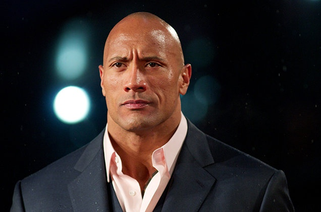 sexiest man alive the rock