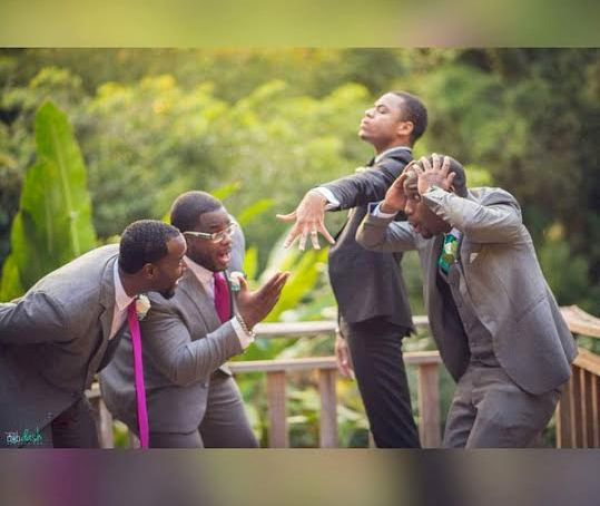 Aww Check Out This Wedding Photo Groom Is Proudly