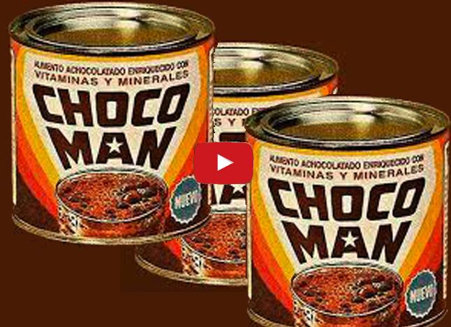 Chocomán, la rica energía de los años 90