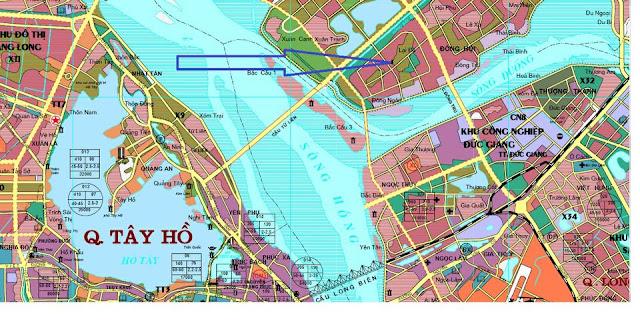 Quy hoạch EuroWindow River Park và cầu Tứ Liên