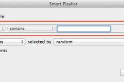 Membuat Smart Playlist di iTunes