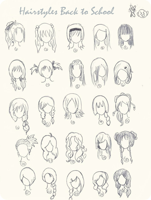 cute anime hairstyles trends hairstyle Short Stacked Hairstyles created by mhasyandra