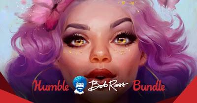 Humble Bob Ross Art Bundle