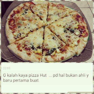 pizza murah sehat nggak kalah sama pizza hut