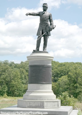 Brigadier General James Wadsworth Monument - Gettysburg Battlefield