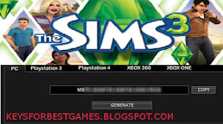 THE SIMS 3 KEYGEN SERIAL KEY FOR FULL GAME DOWNLOAD ...