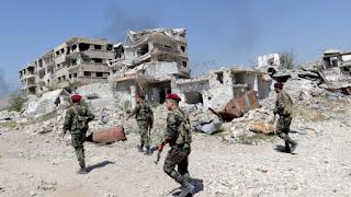 Ο συριακός στρατός άρχισε τον βομβαρδισμό θύλακα τζιχαντιστών νότια της Δαμασκού