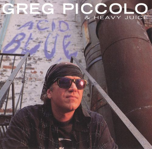 Greg Piccolo Heavy Juice Acid Blue