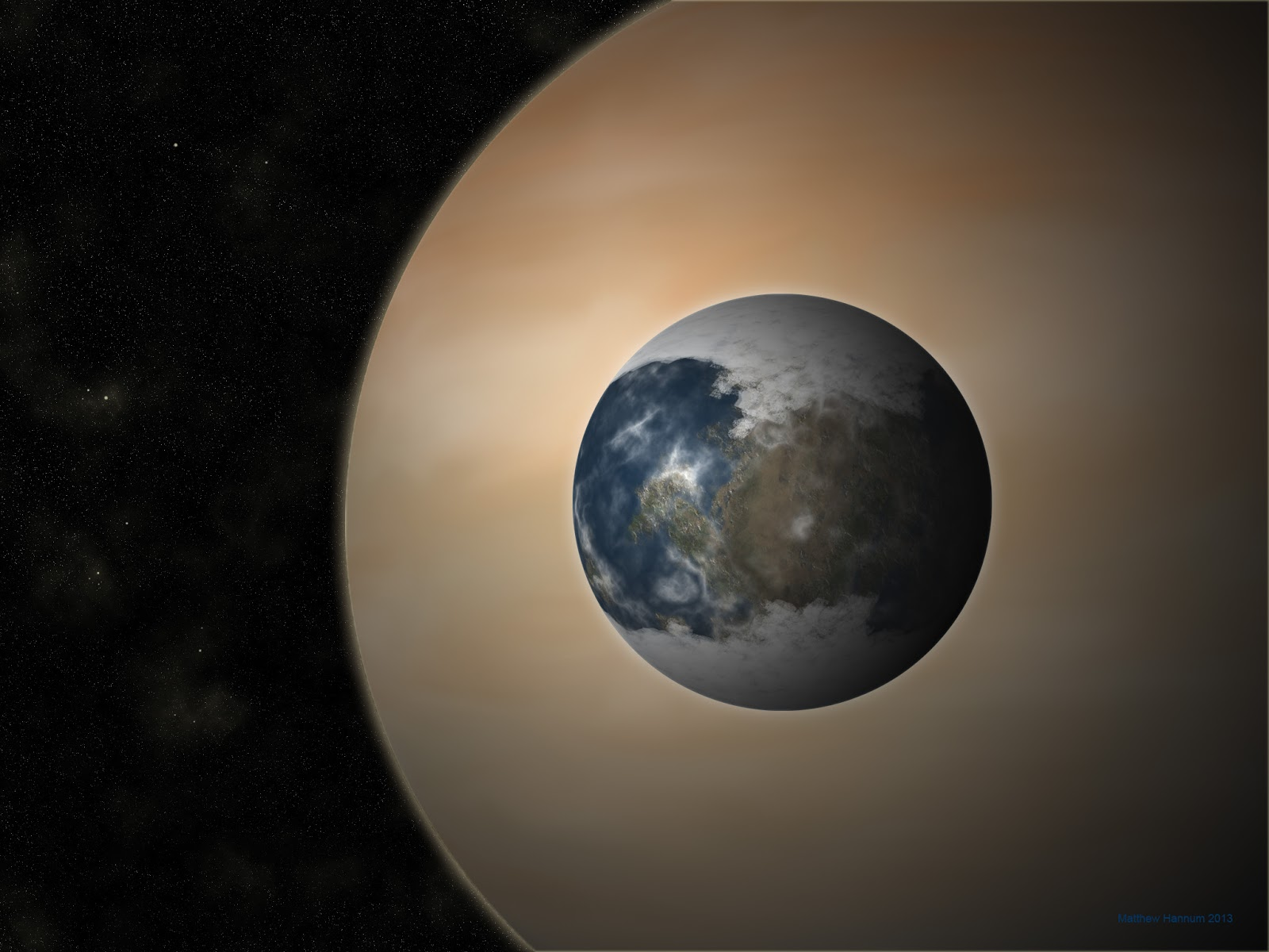 Life On Gas Giants - Pics about space