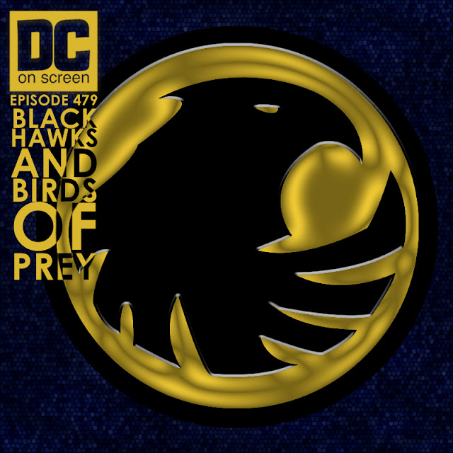 The Blackhawk logo with the dc on screen logo. Episode 479