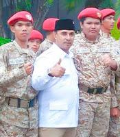 <b>Khalid Bin Walid Terima Mandat Jadi Ketua Gerindra Kota Bima</b>
