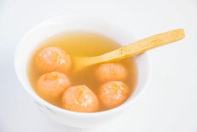 Chinese food - Sticky and sweet potato balls