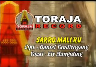 Lagu Toraja Sarro Mali'ku (Ety Mangiding)