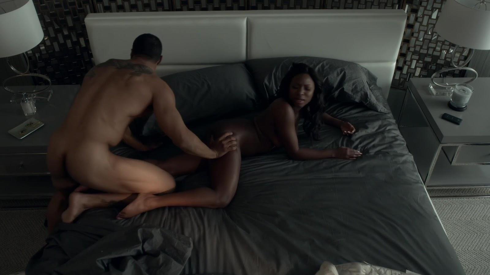 Auscaps Omari Hardwick Nude In Power 1-01 -6773