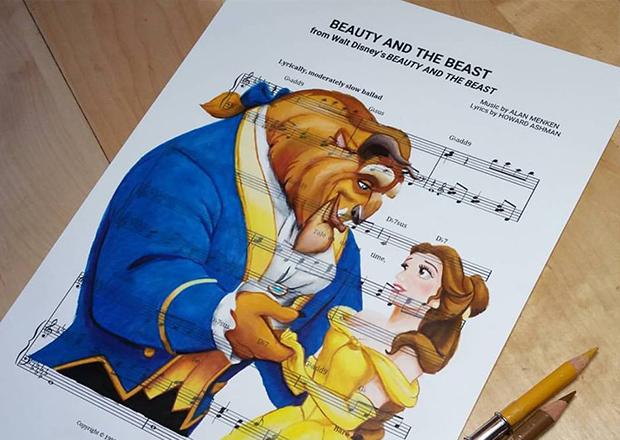 Músicas das Disney ilustradas