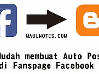 Cara Mudah membuat Auto Posting di Fanspage Facebook