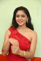 Actress Zahida Sam Latest Stills in Red Long Dress at Badragiri Movie Opening .COM 0100.JPG